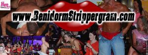 Benidorm hen party strippergram