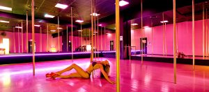 Benidorm Hen Party pole dancing class